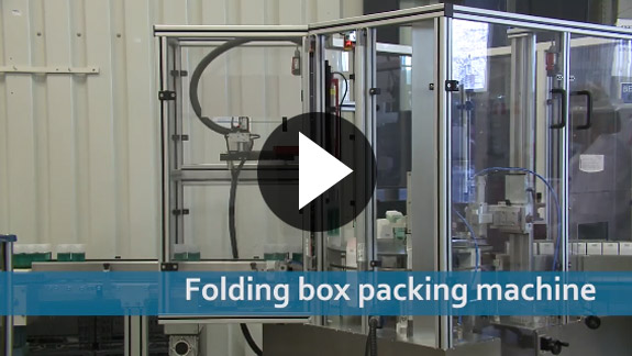 Folding Box Packing Machine